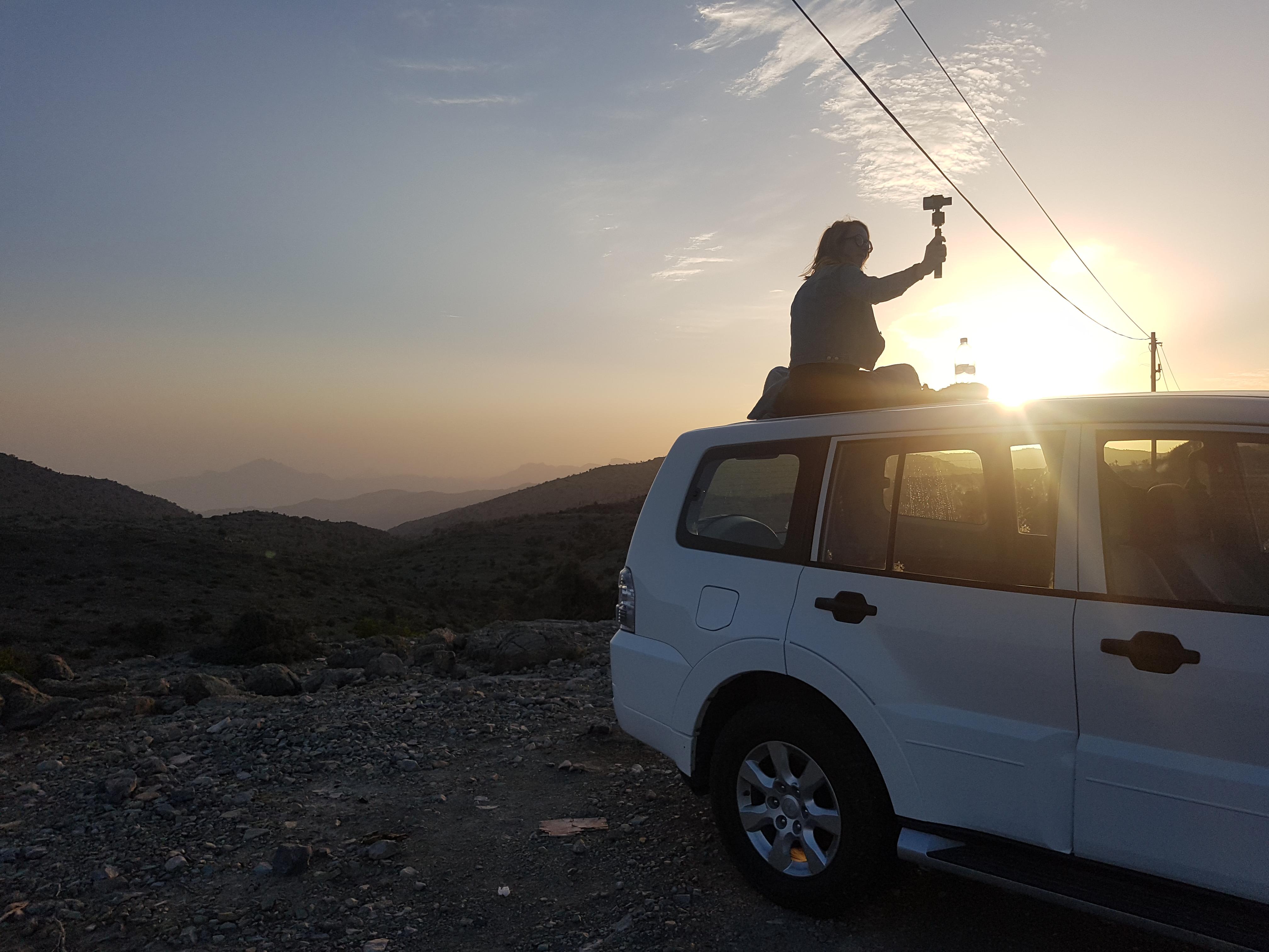 Renting A 4×4 Car In Oman